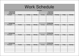Schedule Document Template Monthly Work Schedule Templates 2015 New Calendar Template