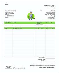 Another Word For Cleaner On Resume Simple Free Microsoft Cleaning Service Invoice Templates Word