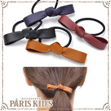 faux leather ribbon small