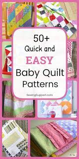 50 easy baby quilt patterns baby
