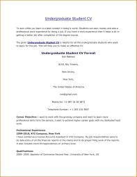 Resume For Internships Template Resume Examples Undergraduate Pinterest Curriculum Vitae Template