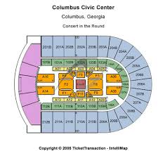 Columbus Civic Center Tickets In Columbus Georgia Seating
