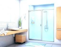 full size of bathtub glass door costco dubai removal half shower for decorating astonishing bath popular