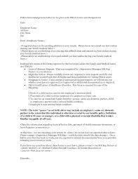 Cover Letter Fmla Cover Letter Cover Letter For Fmla Paperwork