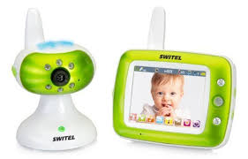 Switel BCF860 <b>3.5</b>-<b>inch Video Baby</b> Monito- Buy Online in ...