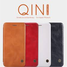 nillkin qin series leather case for apple iphone 6 6s order from official nillkin