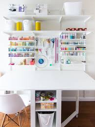home office craft room. A Place For Everything In This Organized Home Office And Craft Room! Room C