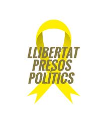 Resultat d'imatges de llaços grocs per als presos polítics
