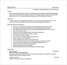 Resume Objective Professional Growth   Resume Pdf Download