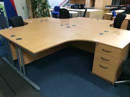 design cool office desks office. Hawk Radial Desk With High Pedestal Design Cool Office Desks