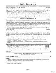 Accounting Resume Sample Fresh Senior Accountant Resume Resumes