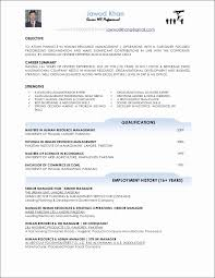 How To Write A Basic Resume For A Job Beautiful Food And Beverage