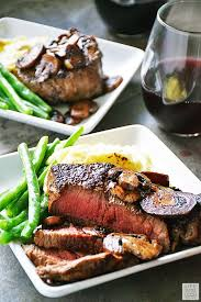 romantic steak dinner for two. Brilliant Steak Pan Seared Sirloin Steak Dinner For Two Just In Time Valentineu0027s Day  This Is The Perfect Meal A Romantic Day Dinner Two Inside Romantic For