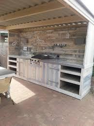 using pallets to make furniture. make a pallet kitchen for outdoor using pallets to furniture s