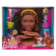 Barbie Hair Extensions Design Website Barbie Color Style Deluxe Styling Head Curly Hair
