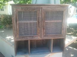 barnwood cabinet doors. custom made two-door barnwood wall cabinet doors g