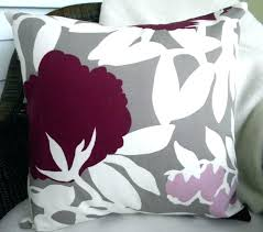 plum colored throw pillows. Interesting Plum Plum Accent Pillows Designer Decorative Pillow Cover  Taupe Fits Square Colored In Plum Colored Throw Pillows E