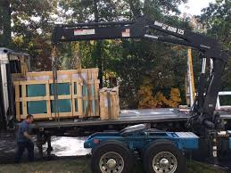 loading cases of sheet glass at ace glass