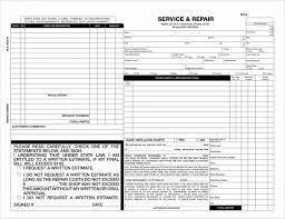 auto repair forms 029 free auto repair shop invoice template body forms und