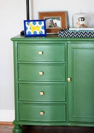 painted green furniture. Making Over The Interior With DIY Painted Furniture Ideas: Awesome Green ~ Etikaprojects G