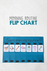 Morning Routine Flip Chart Mama Papa Bubba