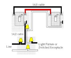 handymanwire wiring a 3 way or 4 way switch three way line switch leg in seperate box