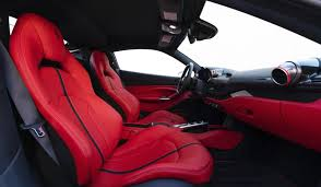 • full leather interior in beige with white applications. 2020 New Ferrari F8 Tributo Sell Your Car On Auto Bazaar Usa