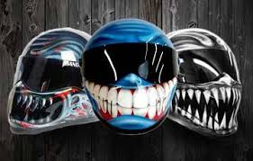custom motorcycle helmets for sale uk blaze artworks
