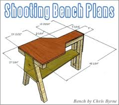 FREE Shooting Bench Plans U2014 Fourteen DoItYourself Designs Plans For Portable Shooting Bench