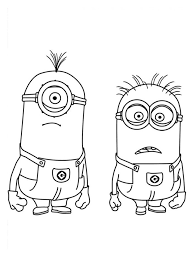 Small Picture 9 best Minion Coloring Pages images on Pinterest Drawings