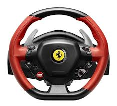 Made by ferrari, it's an exact likeness of the steering wheel used by fernando alonso and felipe massa during the 2011 f1 season. Amazon Com Thrustmaster Ferrari 458 Spider Racing Wheel For Xbox One Video Games