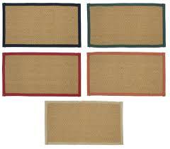 image is loading herringbone machine woven coir rug traditional indoor latex