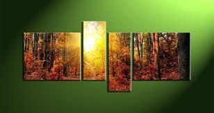 2018 latest abstract nature canvas wall art intended for most up to date nature canvas wall