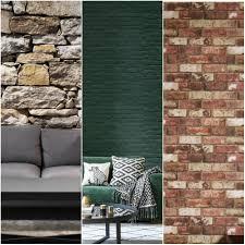 Stylish Brick Effect Wallpaper Designs ...
