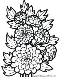 Coloring Pages: printable coloring pages of flowers. Printable ...
