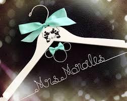 wedding dress hangers etsy Engraved Wedding Hangers Uk disney wedding, mickey mouse hanger,personalized wedding hanger,disney bride hange,bridesmaid personalized wedding hangers uk