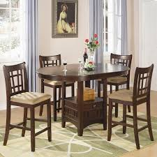 dining room chairs counter height. lavon counter height dining room set (cherry) chairs l