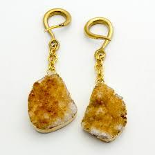 oracle body jewelry citrine druzy dangles