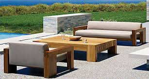 Beautiful Outdoor Sofa Wood Solid Teak Wood Outdoor Furniture