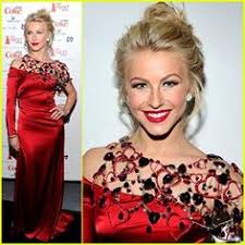 julianne hough heart truth red dress prom makeuphair