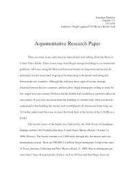 researched argument essays sample argument essays