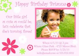 birthday party invitation wording 3 year old wordings for 1 1st happy printing staples