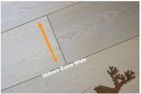 260mm extra wide wood flooring
