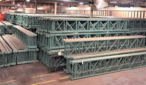 we carry large lot sizes of a variety of used pallet racking some examples include