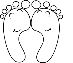 Small Picture Free coloring pages of feet Clip Art Library