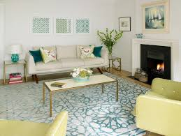 rug on carpet living room. Rug On Beige Carpet Living Room Contemporary With Green Armchair Blue And N