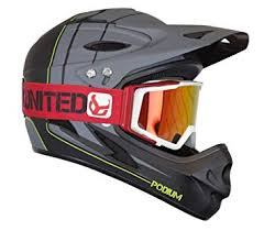 Demon Podium Full Face Mountain Bike Helmet ... - Amazon.com