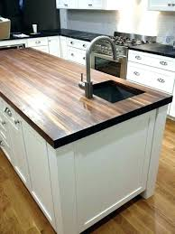 awesome butcher block home depot care laminate s butch countertops vs cost