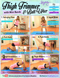 Thigh Trimmer Butt Lifter Workout POP DVD 2.0 Update