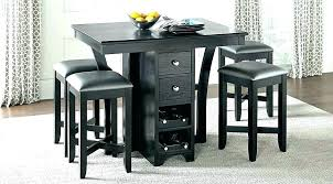 kitchen high table and chairs small bar height table bar height rectangular table small counter height